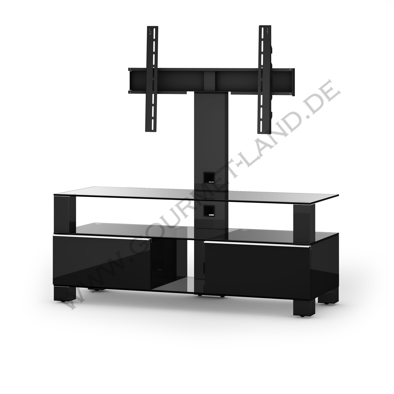 sonorous tv moebel md8123 c hblk blk md 8123 c hblk blk 12. Black Bedroom Furniture Sets. Home Design Ideas