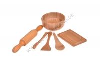 Minny - 6 Parça Minyatür Mutfak Seti